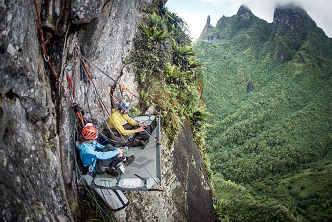 poumaka alpinistes americains