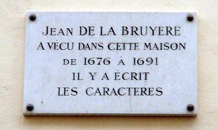 la bruyere plaque a paris rue st augustin