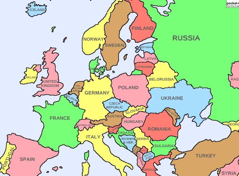carte europe politique   argoul