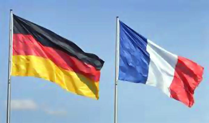 drapeaux france allemagne