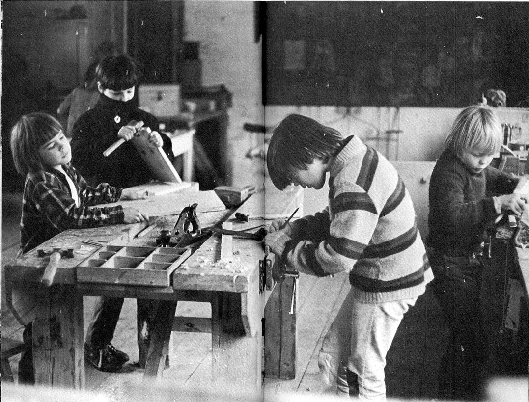 enfants de summerhill atelier