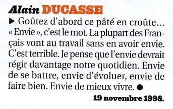 Envie Alain Ducasse