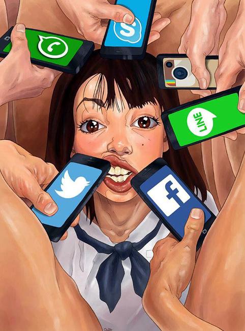 reseaux sociaux mediavores