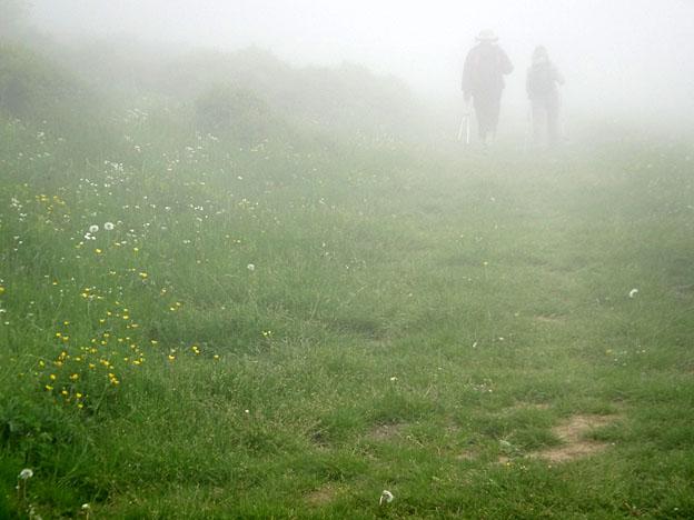 brouillard plateau de Langarail