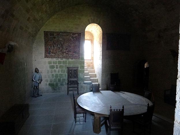 chateau de puivert logis