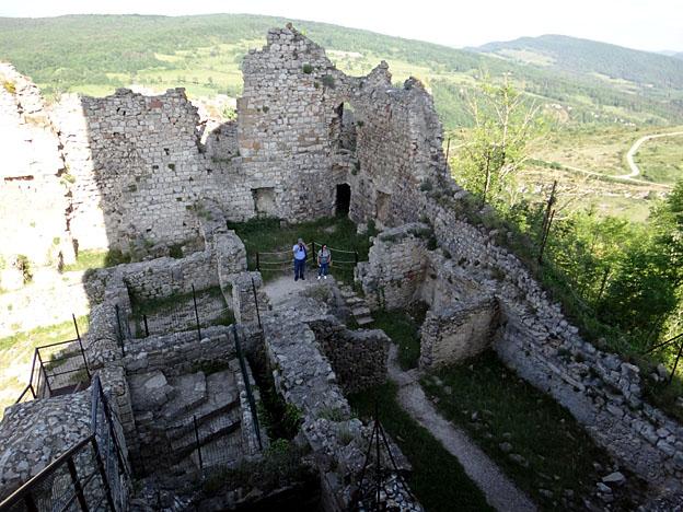 chateau de puivert ruines