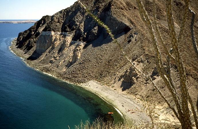 falaise ile Basse Californie