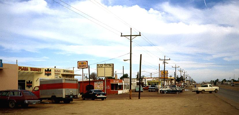 grand route Basse Californie