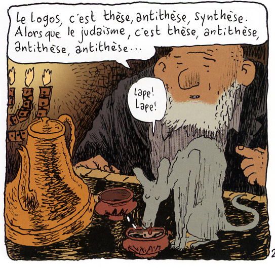 Judaïsme Johann Sfar Le chat du rabbin