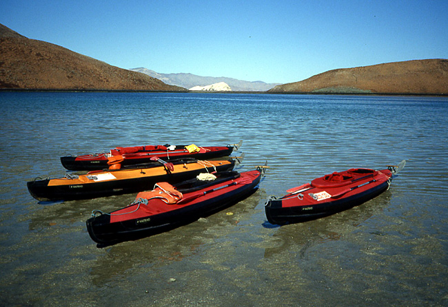 kayaks nautiraid Basse Californie