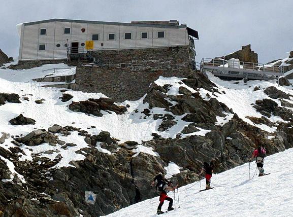 Mont Blanc refuge des grands mulets 2008