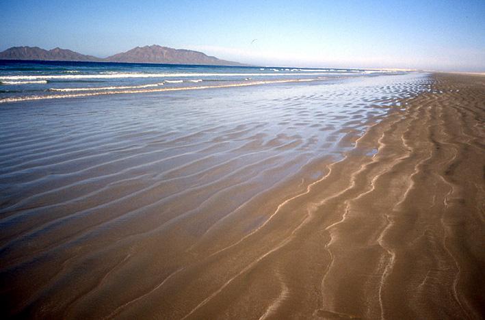 ondulation plage Basse Californie