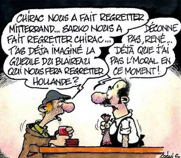 politiciens francais