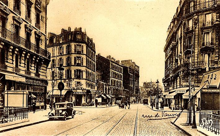 1930 Paris carrefour plaisance rue raymond losserand