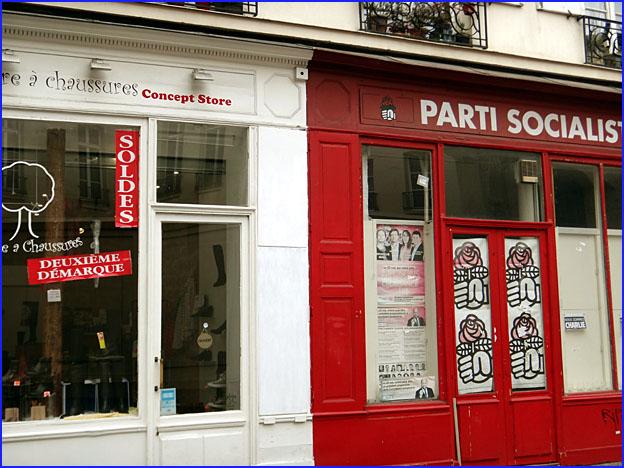 Paris parti socialiste soldes
