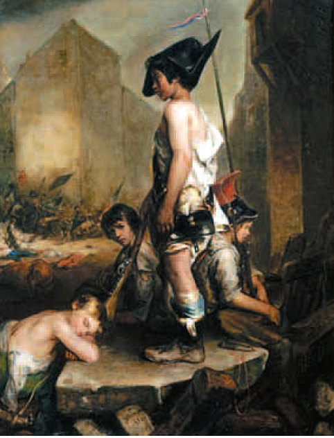 philippe auguste jeanron les petits patriotes musee beaux arts caen