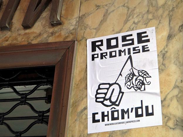 socialisme rose promise chom'du