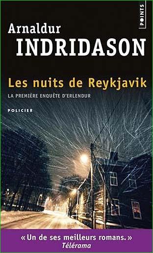 arnaldur indridason les nuits de reykjavik