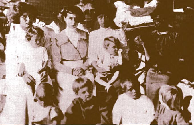 Clipperton survivants