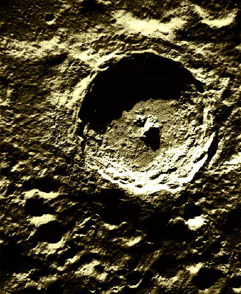 cratere de tycho sur la lune