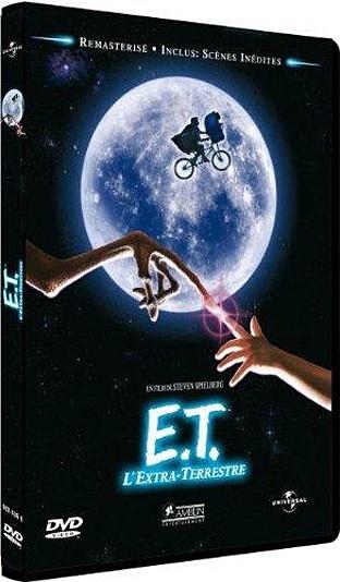 E.T. steven spielberg dvd