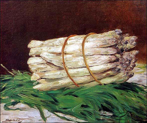 edouard manet botte d asperges 1880