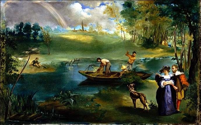 edouard manet la peche 1863
