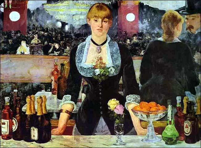 edouard manet le bar aux folies bergeres 1882