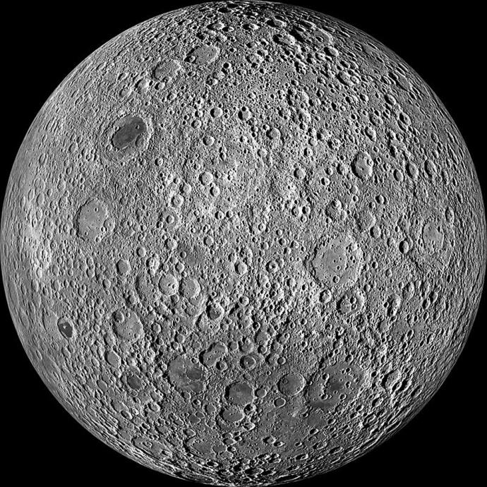 face cachee de la lune