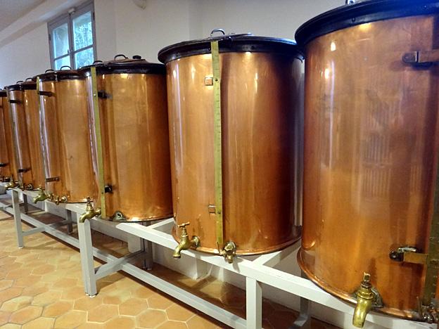Grasse usine Fragonard alambics