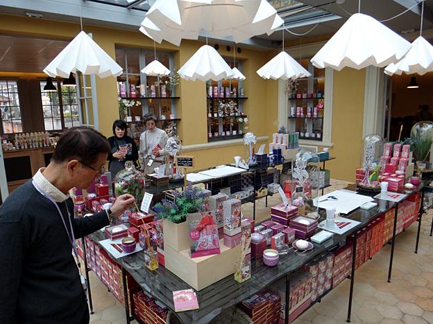 Grasse usine Fragonard boutique