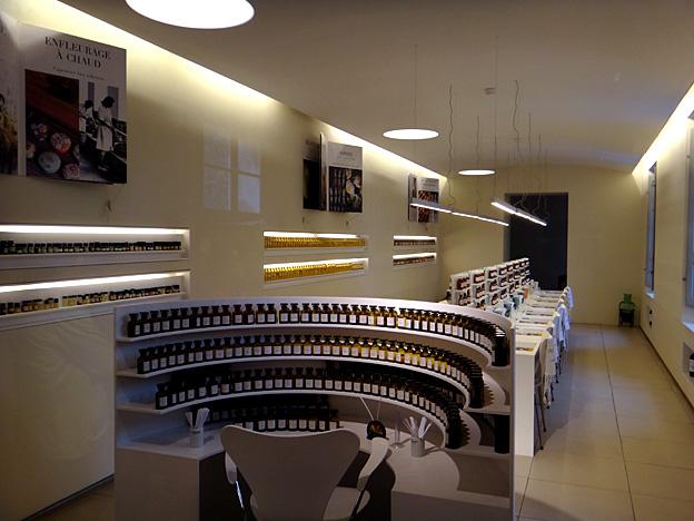 Grasse usine Fragonard piano du nez