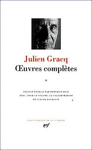 julien gracq pleiade tome 2
