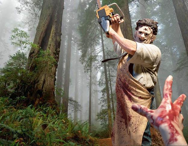 massacre a la tronconneuse action