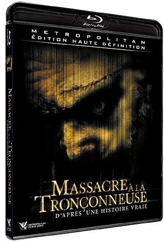massacre a la tronconneuse dvd
