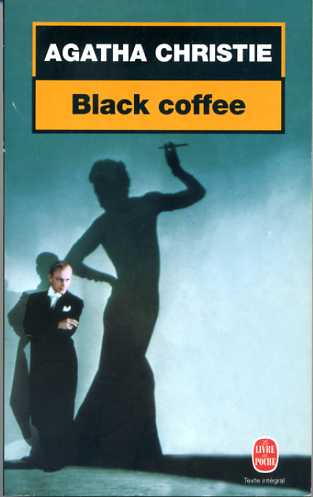 agatha christie black coffee poche