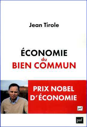 jean tirole economie du bien commun