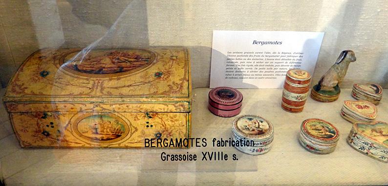 musee Fragonard boites bergamote