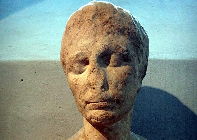 musee Fragonard tete empereur auguste