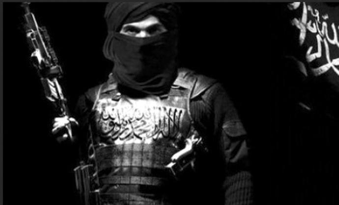 djihadiste en burqa