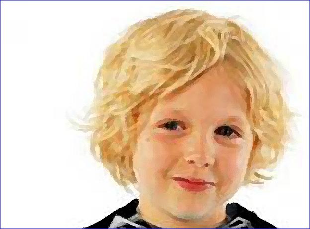enfant breton cheveux blonds