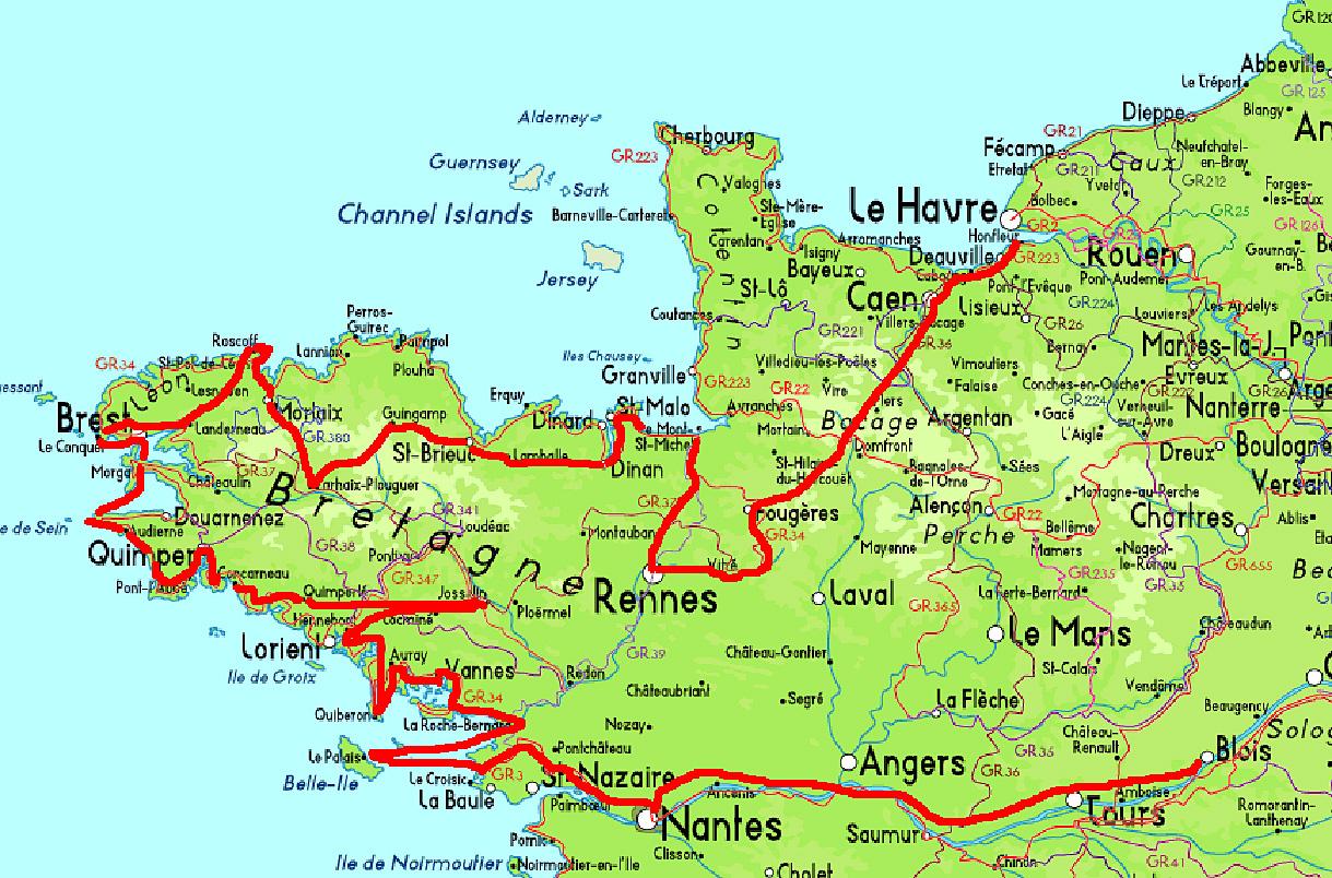 itineraire flaubert du camp 1847