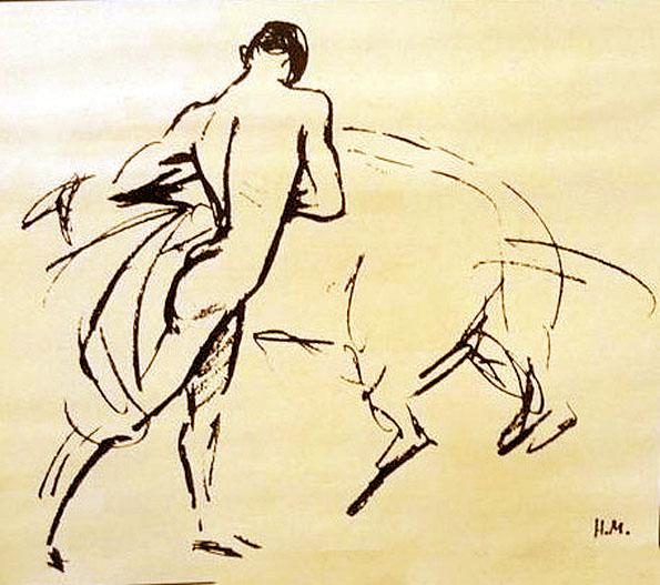 dessin-torero-montherlant