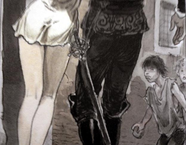 milo-manara-le-caravage-1-detail-gamin