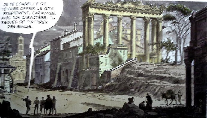 milo-manara-le-caravage-1-rome-16eme