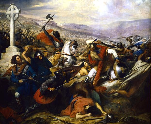 bataille-de-poitiers-732-par-steuben