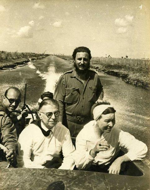 cuba-sartre-et-beauvoir-avec-castro-1960