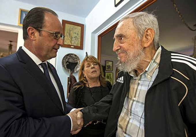 hollande-et-castro