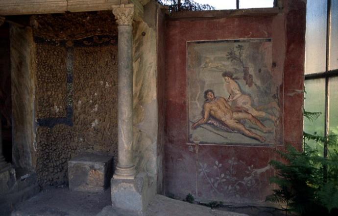 pompei-maison-tiburtina-pyrame-et-thisbe-nus