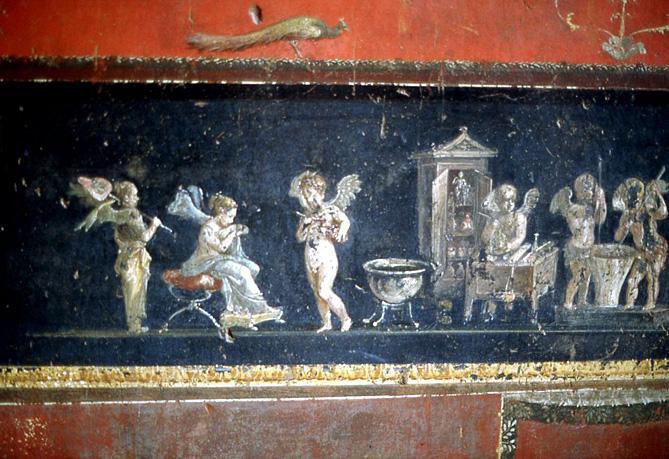 pompei-maison-vetii-amours-folatres
